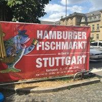 Photo taken at Karlsplatz by Stephanie S. on 7/17/2016