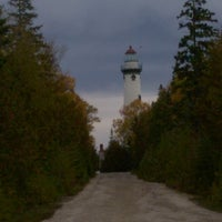Photo taken at New Presque Isle Lighthouse by Mark J. on 10/23/2016