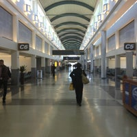 Photo taken at Louis Armstrong New Orleans International Airport (MSY) by Clark N. on 2/1/2013