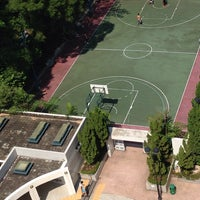 Photo taken at Basketball court by Adrian T. on 10/18/2014