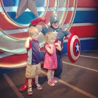 Photo taken at Captain America: The Living Legend and Symbol of Courage by Heather G. on 3/4/2015