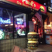 """Photo taken at Paul's """"Da Burger Joint"""" by Andy S. on 5/16/2013"""