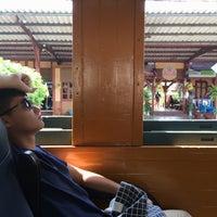 Photo taken at Lam Phun Railway Station (SRT1216) by แทนธัญ' ส. on 10/1/2016