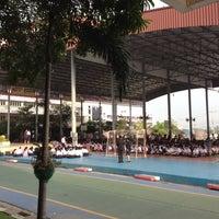Photo taken at กลางโดม by Thanapon A. on 12/22/2015