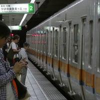 Photo taken at Chuo Line Morinomiya Station (C19) by ユター ㅤ. on 8/4/2018