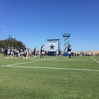Photo taken at Dallas Cowboys Training Camp by Arturo C. on 7/27/2017