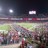 Photo taken at Stanford Stadium by Melissa C. on 10/6/2013