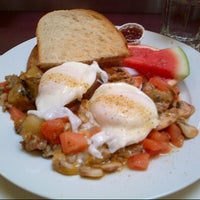 Photo taken at Alana's Cafe by Melissa C. on 1/21/2013