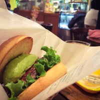 Photo taken at Freshness Burger by Jon on 1/16/2015