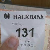 Photo taken at Halkbank by .... .. on 8/17/2016