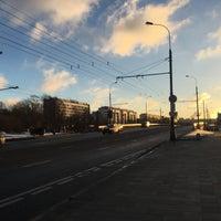Photo taken at Остановка «Хамовнический Вал» by Evgeniya C. on 2/2/2017