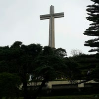 Photo taken at The Cross - Mt. Samat by Jules Kathleen A. on 11/27/2016