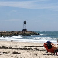 Photo Taken At Ponquogue Beach By Mark C On 7 8 2013