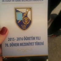 Photo taken at İİBF B Amfileri by Gizem B. on 5/23/2016