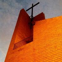 Photo taken at Parroquia Nuestra Señora del Carmen by lualgori on 2/16/2013