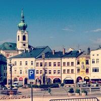 Photo taken at Krakonošovo náměstí by Rik M. on 7/28/2013