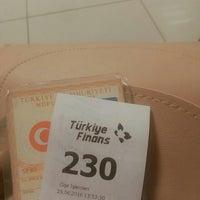 Photo taken at Turkiye Finans Katılım Bankası by 🍓Elifnur E. on 6/29/2016