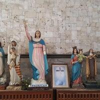 Photo taken at Sto. Thomas de Villanueva Parish (Danao City Church) by Daphne K. on 2/1/2018