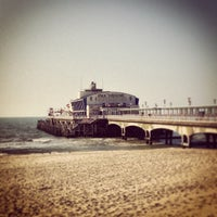 Photo taken at Bournemouth Pier by Danny K. on 4/20/2013
