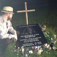 Photo taken at Cliff Burton Memory Stone by Niklas D. on 7/13/2014