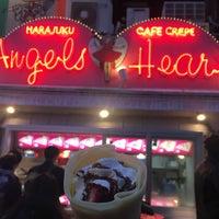 รูปภาพถ่ายที่ Angels Heart Harajuku Cafe Crepe โดย もも え. เมื่อ 2/2/2018