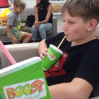 Photo taken at Boost Juice by Jeanne D. on 1/23/2016