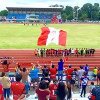 Photo taken at Sing Buri Stadium by atsa s. on 9/3/2016