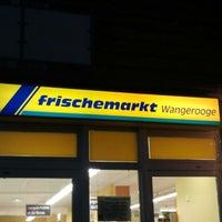 Photo taken at Frischemarkt Wangerooge by Hans D. on 11/30/2012