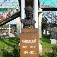 Photo taken at Станция Клин-Москва Е232 by Simon K. on 7/30/2016