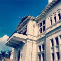 Photo taken at Gedung Heritage Bank Indonesia Yogyakarta by Ardo A. on 5/1/2013
