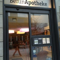 Photo taken at BerlinApotheke by Heinz M. on 1/23/2013