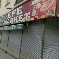 Photo taken at Efe Market by Murat K. on 3/5/2016