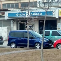 Photo taken at İşbankası Toptancılar Şb by Hayrettin D. on 2/15/2016