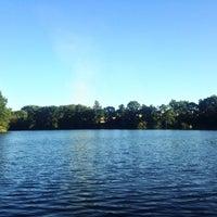 Photo taken at Velký rybník by Lily B. on 8/26/2016