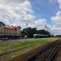 Photo taken at Železniční stanice Lužná u Rakovníka by Lily B. on 6/26/2016