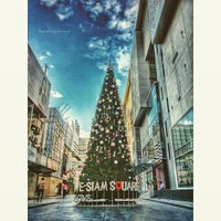 Photo taken at Siam Square by Chayut L. on 12/18/2014