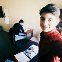 Photo taken at Ali Ulvî Erkek Öğrenci Yurdu by Emrecan K. on 11/14/2015