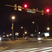 Photo taken at Montrose Parkway & Montrose Road by William D. on 2/9/2013