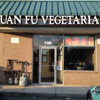Photo taken at Yuan Fu Vegetarian by William D. on 6/11/2013