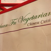 Photo taken at Yuan Fu Vegetarian by William D. on 1/17/2013