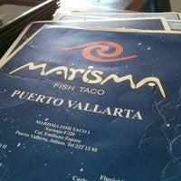 Foto tomada en Marisma Fish Taco por Kathleen C. el 1/18/2016