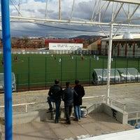 Photo taken at Pazaryeri İlçe Stadı by Oktay Y. on 2/13/2016