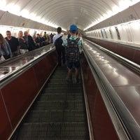 Photo taken at Metro =B= Anděl by Theodora K. on 6/28/2017