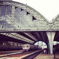 Photo taken at Lviv Railway Station by Bohdan K. on 2/1/2013