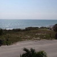 Photo taken at The Beach Behind Sun On The Beach by Gillian D. on 4/27/2014