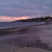 Снимок сделан в Пляж «Ланжерон» пользователем Anastasia N. 10/24/2012