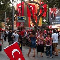 Photo taken at Bağdat Avenue by Gercek A. on 8/30/2013