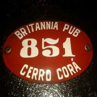 Photo taken at Britannia Pub by Lars T. on 11/18/2012