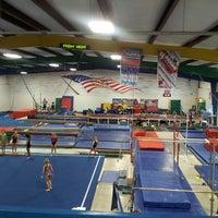 Photo taken at J&R Gymnastics by Steve G. on 9/14/2013