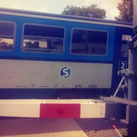 7/21/2017 tarihinde Britney 👸ziyaretçi tarafından Železniční stanice Brandýs nad Labem'de çekilen fotoğraf